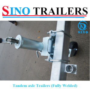 Factory Popular OEM Design Fully Welded Tandem Box Trailer on Sale pictures & photos