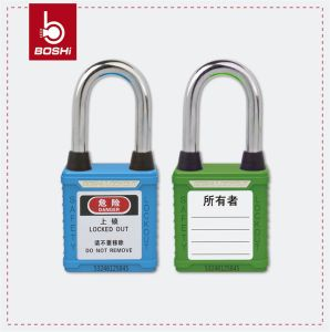Steel Shackle Dust-Proof Safety Padlock (BD-G01DP) pictures & photos