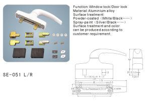 Aluminum Alloy Window Handle (SE-051L/R) pictures & photos