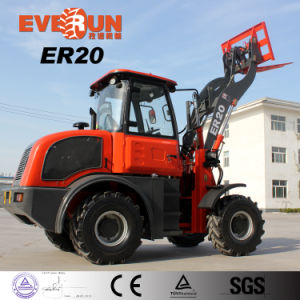 Everun Ce Approval 2.0 Ton Small Front End Loader pictures & photos