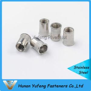 Stainless Steel Small Head Knurled Body Rivet Nut pictures & photos