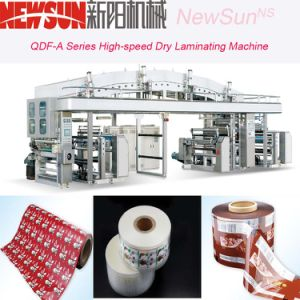 Qdf-a Series High-Speed Pet Film Dry Lamination Machine pictures & photos