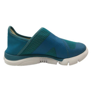New Design Portable Online PU Mesh Shoes Men Sport, Sport Running Shoes Men pictures & photos