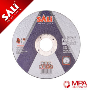 High Quality Abrasive Metal Cutting Disc and Steel Polishing Wheel pictures & photos