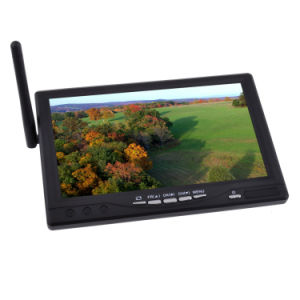 RC800 7 Inch Wireless HD LCD TFT Snow Screen Monitor with 5.8GHz 32CH Receiver and DVR Recorder for Fpv System pictures & photos