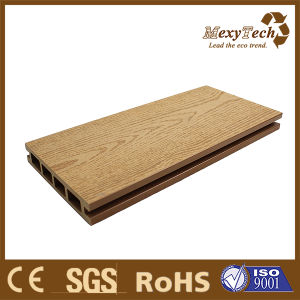 Easily Cleaning WPC Material Wood Grain Composite Decking pictures & photos