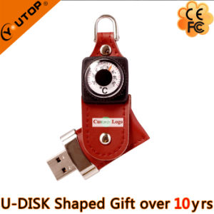 Rotating Leather Compass USB Pendrive for Promotion Gifts (YT-5113) pictures & photos