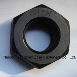 Carbon Steel DIN6915 Hexagon Nuts USD for Wind pictures & photos