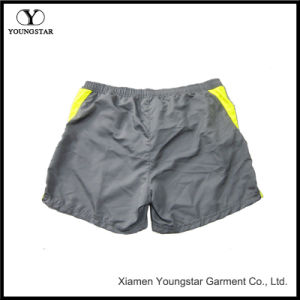 Mens Swim Short Casual Yellow Surfing Beach Shorts Trunk pictures & photos