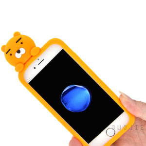 3D Cartoon Bear Silicone Phone Case for Huawei P9lite P9plus J7prime J2prime Mobile Phone Cover (XS-G130) pictures & photos