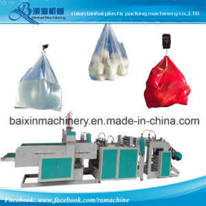 Small Bags T Shirt Bags Making Machine pictures & photos