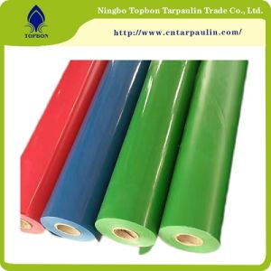 China Manufacturer PVC Coated Fabric, Waterproof PVC Tarpaulin Blue Tarpaulin pictures & photos