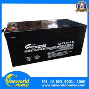 Solar Battery Manufacturer Supply 12V 100ah to 250ah Battery for off Grid Solar pictures & photos