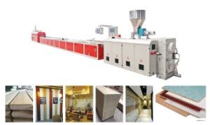 WPC/PVC Wall Panel Extrusion Line pictures & photos