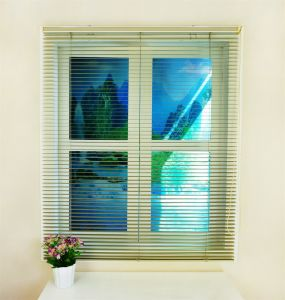 Gloden Color Stainless Sheet Home Aluminum Venetian Blinds pictures & photos