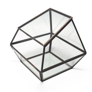Cheap Price Geometric Glass Terrarium for Flower pictures & photos