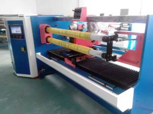 Crepe Paper Adhesive Tape Cutting Machine pictures & photos