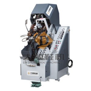Ds-618b Automatic Toe Lasting Machine for Shoe pictures & photos