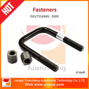 8.8 / 10.9 Grade Quenched Steel U Bolt with Washer and Nut pictures & photos
