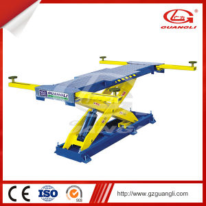 Factory Supply High Quality One Hydraulic Cylinder Scissor Car Lift for Car Garage with Ce pictures & photos