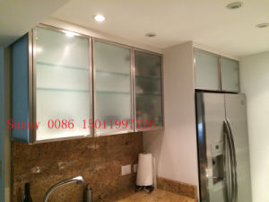 Frosted Glass Kitchen Cabinet Doors (customized) pictures & photos