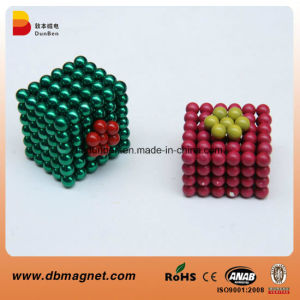 Sintered Neodymium Magnetic Colorful D5mm Ball for Children Toys pictures & photos