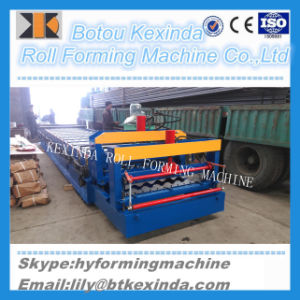 High Glazed Tile Roofing Sheet Roll Forming Making Machine pictures & photos