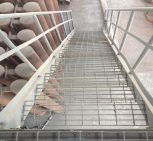 Galvanized Steel Stair Grating Ladder pictures & photos