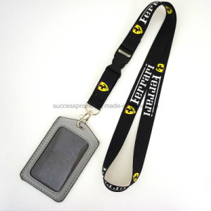 Custom Polyester Lanyards with ID Card Holder pictures & photos