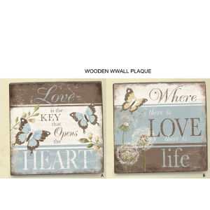 Antique Wall Decoration Wooden Craft Sign