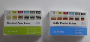 02 Gutta Percha Points Orthodontic Material for Dental Filling Use pictures & photos