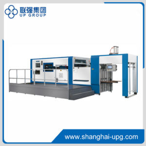 Lq-Xlmyq-1300/1500d Automatic Diecutting & Creasing Machine with Stripping Station (MANUL-AUTOMATIC TYPE) pictures & photos