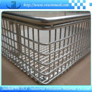 Alkali-Resisting Stainless Steel Wire Mesh Basket pictures & photos