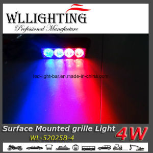 Surface Mounting Vehicle 4 LED Head Light pictures & photos