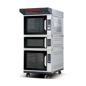 Gas 5trays Convection Oven+Single Deck Oven+5trays Proofer Combination Oven Baking Oven pictures & photos