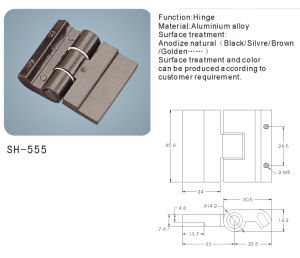 Aluminium Alloy Hinge for Doors and Windows/Hardware (SH-555) pictures & photos