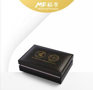 Retro Clamshell Gilding Texture Carbon Fiber Wooden Coin Box pictures & photos