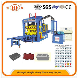Hydraulic Automatic Concrete Block Brick Machine (QT6-15) pictures & photos