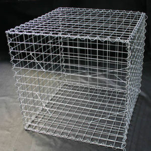 China Wholesale 50*50mm Mesh Size Galfan Welded Gabion Box pictures & photos