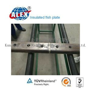55# & 50# Steel Insulated Rail Joint Bar pictures & photos