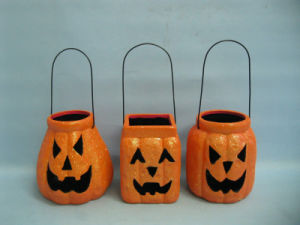 Halloween Pumpkin Ceramic Arts and Crafts (LOE2379-B13z) pictures & photos