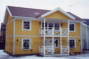 Galvanized/Painted Prefab Steel Frame Homes pictures & photos