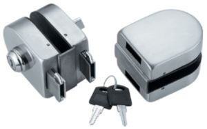 Quality Glass Sliding Door Lock (FS-223) pictures & photos