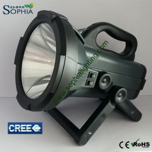 New Rechargeable 30W CREE LED Flash Light Distance 1500m pictures & photos