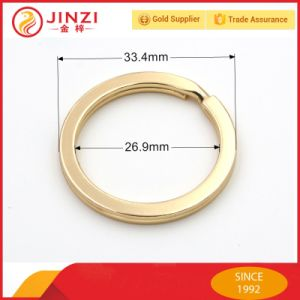 1 Inch Big Gold Key Ring pictures & photos
