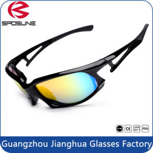 Low MOQ Anti-Scratch Injection Eyewear Night Polarized Sunglasses for Police pictures & photos