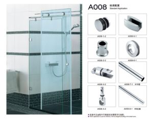 Sliding Door Set Stainless Steel Shower Glass Door Fitting pictures & photos