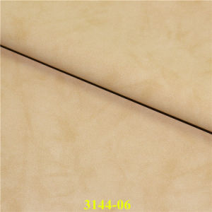 Top Quality Synthetic PU Scrub Leather for Shoes and Bags pictures & photos