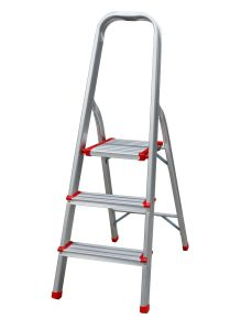 3 Steps Warehouse Aluminium Ladder pictures & photos