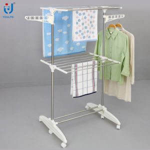 Extended Extendable Clothing Laundry Rack Clothing Drying Hanger pictures & photos